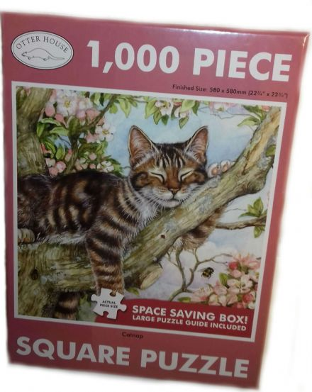 Catnap Square 1000 Piece Jigsaw